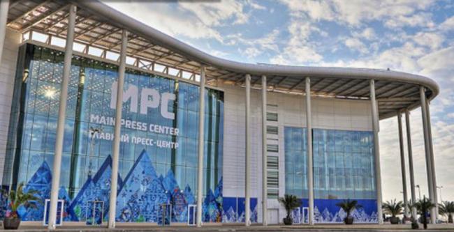 Медиацентр в Сочи, возведенный с применением АКП Bildex и архитектурных покрытий EWIGOL