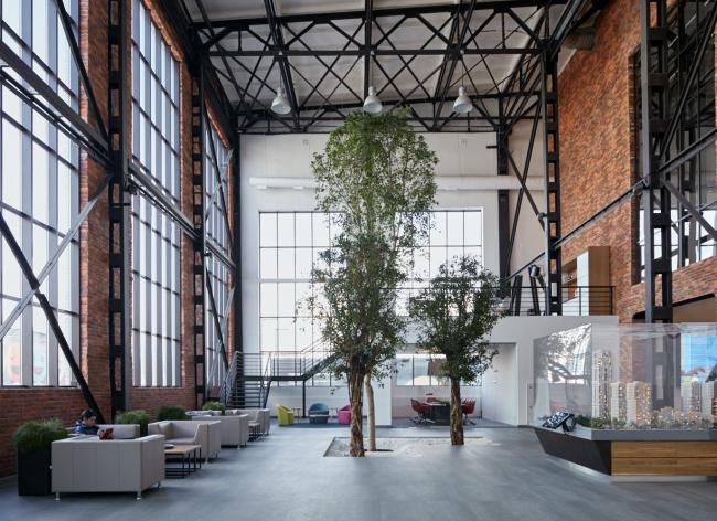 Здание офиса продаж компании PSN Group. Постройка, 2015 © UNK project