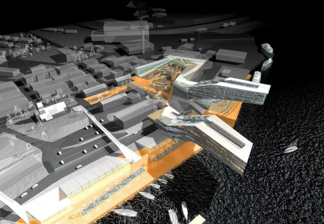 Многофункциональный комплекс «Iceberg Plaza» © Архитектурное бюро Асадова