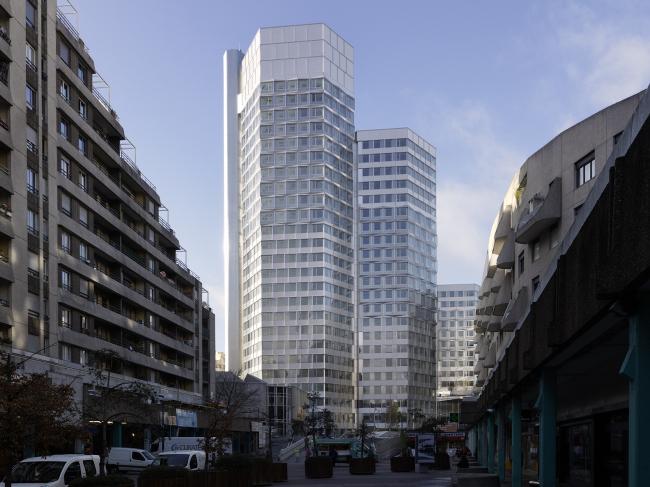 Комплекс CityLights © André Morin/ Dominique Perrault Architecture /Adagp