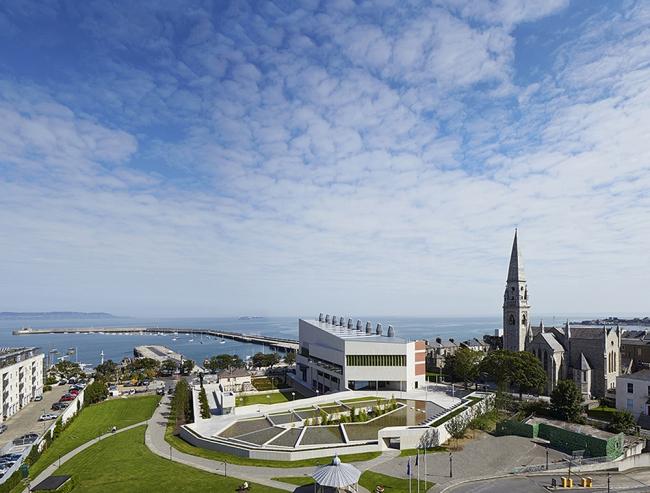 Культурный центр и публичная библиотека DLR Lexicon в Дублине © Dennis Gilbert