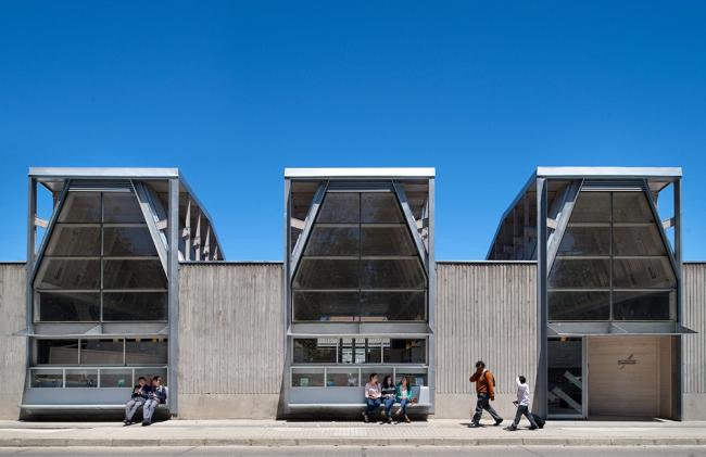Публичная библиотека Конститусьона © Felipe Díaz