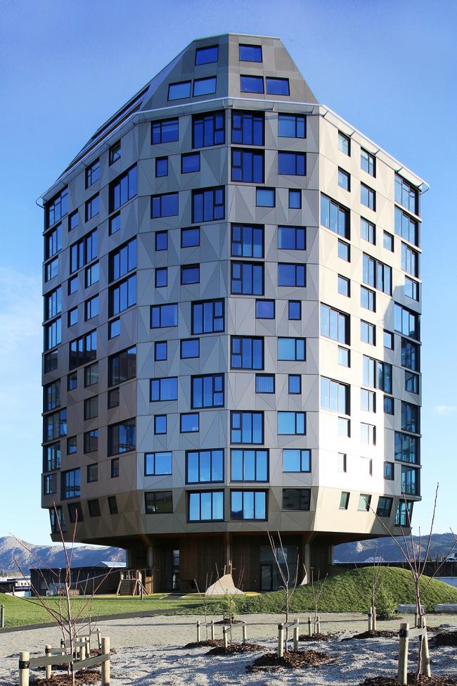 Жилой комплекс Rundeskogen в Ставангере © Alex de Rijke