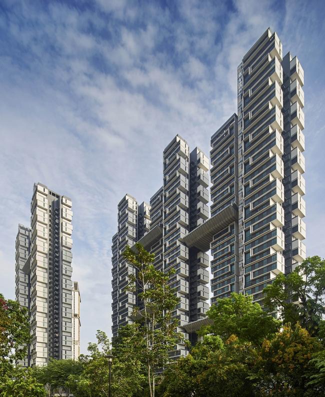 Жилой комплекс SkyTerrace в Сингапуре © Aaron Pocock