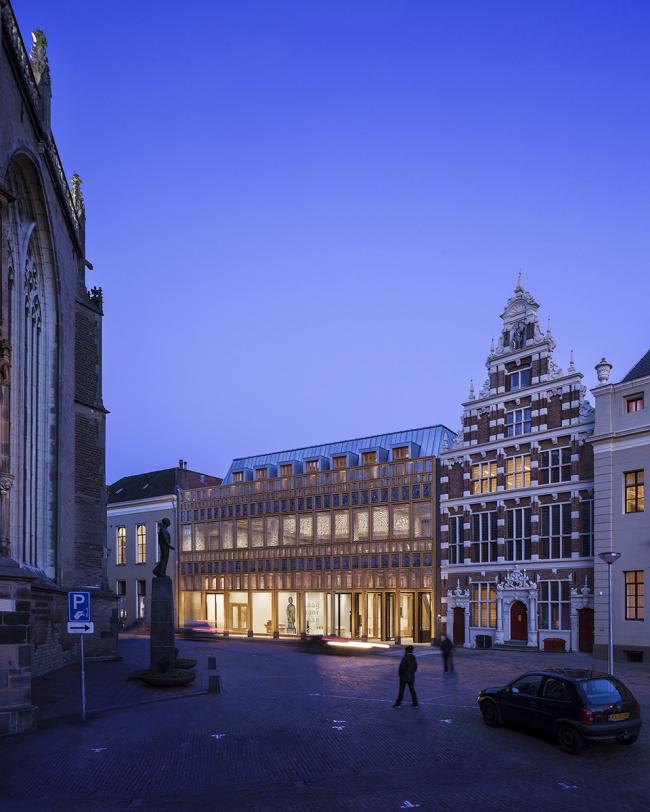 Здание городской администрации Девентера / Фото: scagliolabrakkee © Neutelings Riedijk Architects