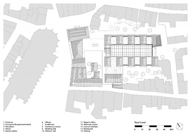 Здание городской администрации Девентера © Neutelings Riedijk Architects