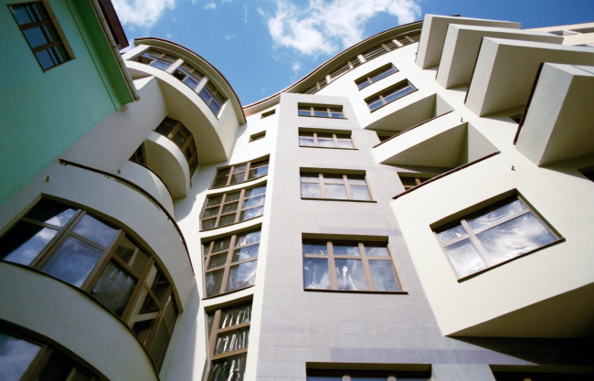 Реконструкция жилого дома, Афанасьевский переулок © Архитектурное бюро Асадова