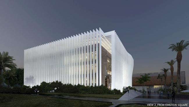 Центра нанотехнологий Тель-Авивского университета © Atelier d'Architecture Michel Remon