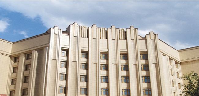Здание МИД России в Москве© Agrob Buchtal