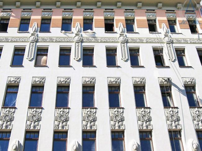 Применение фасадного декора © «Архитектура Благополучия»