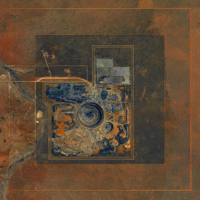 Алмазная шахта в Летлакане, Ботсвана. Daily Overview | Satellite images © 2016, DigitalGlobe, Inc.