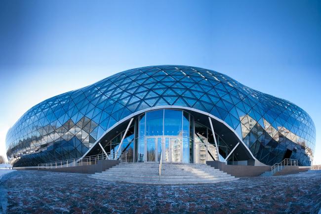 Биотехнопарк «Кольцово», Новосибирск, 2015. «Саентифик Фьючер Менеджмент» (SFM). Предоставлено проектом «Приметы городов»