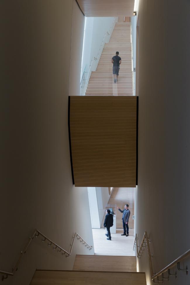 Новое крыло Музея современного искусства Сан-Франциско © Iwan Baan, предоставлено SFMOMA
