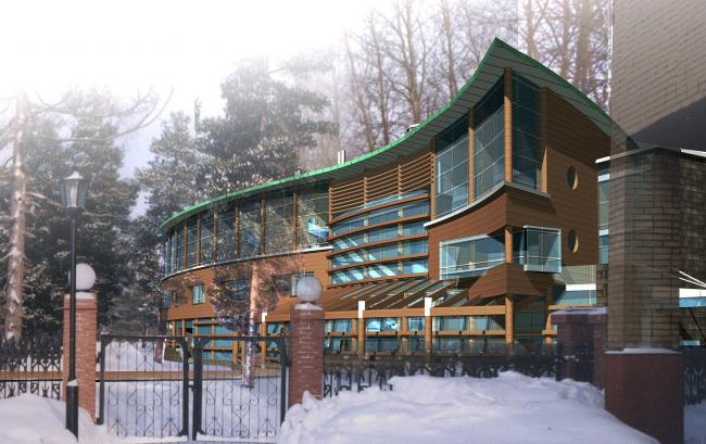 Гостиничный центр, г. Сургут © Архитектурное бюро Асадова
