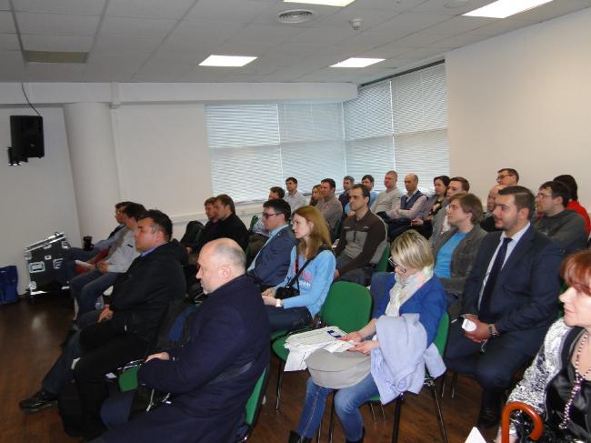 Конференция «Юкон Инжиниринг» в рамках выставки «Мосбилд-2016». Фотография предоставлена организаторами