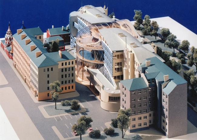 Реконструкция здания под отель 5 звезд, Гоголевский бульвар © Архитектурное бюро Асадова