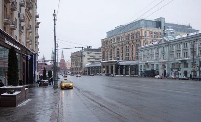 Программа улучшения улицы Тверская. Существующее положение. Конкурсный проект, 2016 © КБ «Стрелка»