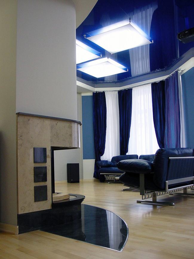 Интерьер частных апартаментов, Романов переулок © Архитектурное бюро Асадова