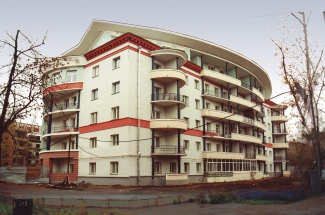 Жилые здания, ул. 1-ая Владимирская