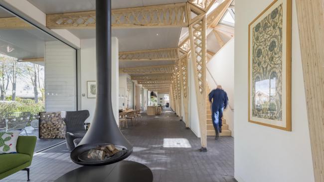 Центр Мэгги в больнице Кристи © Nigel Young / Foster + Partners