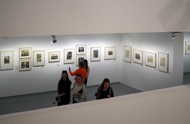 Выставка коллекции Павла и Анастасии Хорошиловых. Фотография © Юлия Тарабарина, Архи.ру