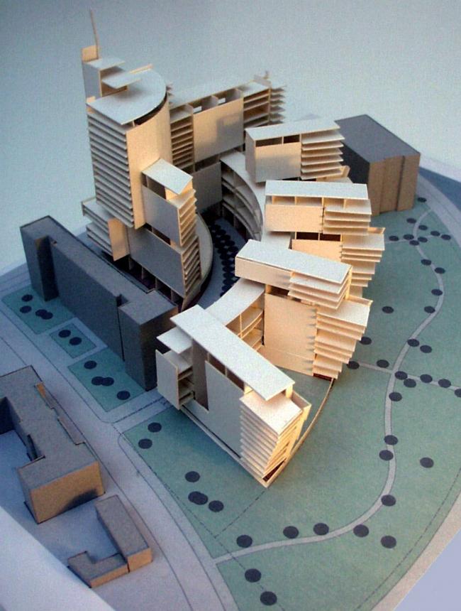 Жилой комплекс, набережная реки Яуза © Архитектурное бюро Асадова