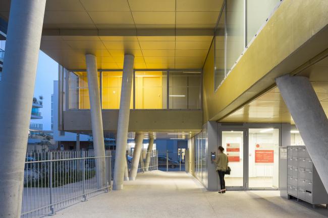 Студенческое общежитие Golden Cube © Sergio Grazia