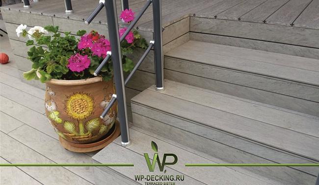 ДПК для наружного применения. Фото предоставлено компанией Woodplast