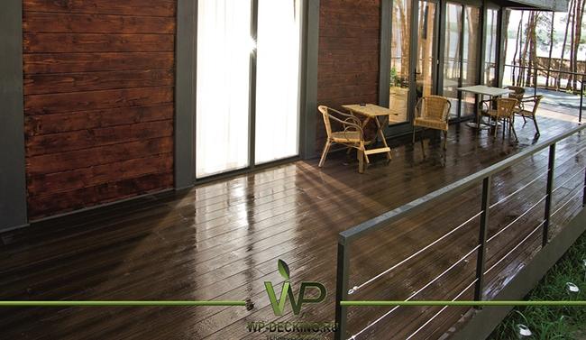 Террасная доска Legro Ultra Naturale. Фото предоставлено компанией Woodplast