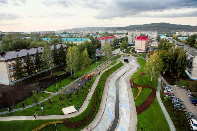 Парк «Шамсинур» (Альметьевск). Предоставлено коммуникационным агентством