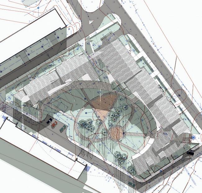Малоэтажный жилой комплекс «Красная гора» © Архитектурное бюро Асадова