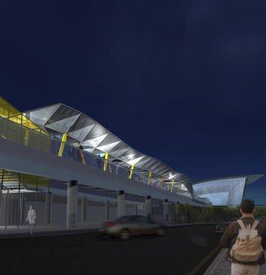 Станция «Стрэтфорд» легкой железной дороги. Проект