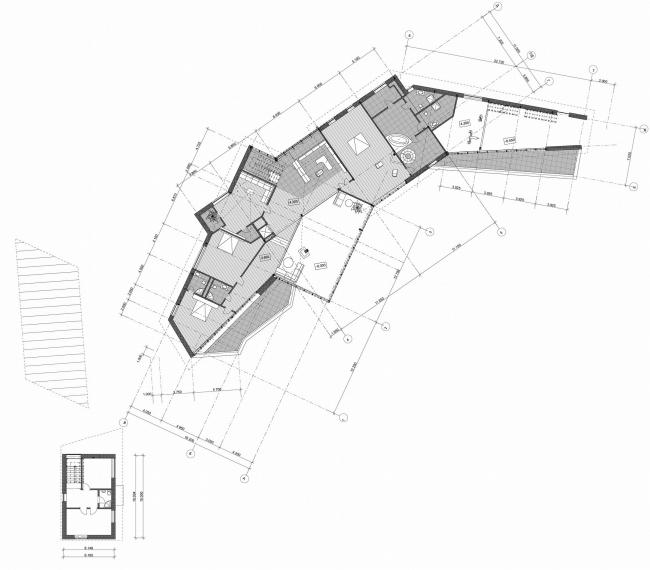 Частный загородный дом, пос. Красновидово © Архитектурное бюро Асадова