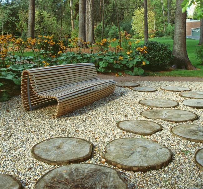 Частный сад в поселке Барвиха. Реализация, 2015 © Ландшафтная компания ARTEZA