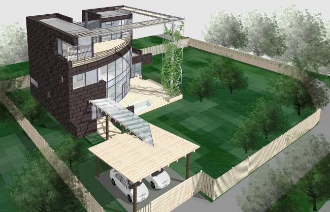 Частный загородный дом, Новорижское шоссе © Архитектурное бюро Асадова