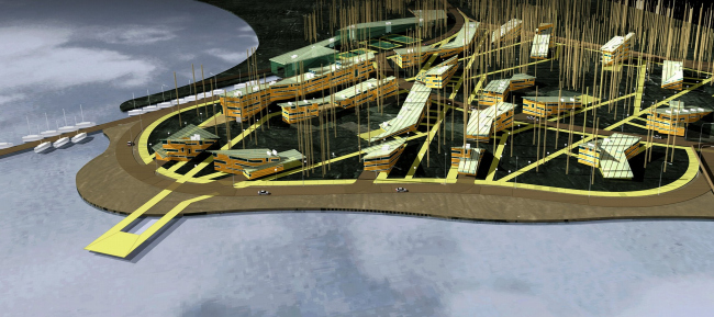 Коттеджный поселок «Мистраль»,озеро Балтым © Архитектурное бюро Асадова