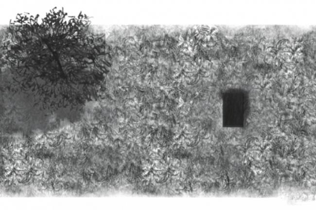 Проект «Закопанный Гелендваген». Изображение предоставлено командой фестиваля «Архстояние»