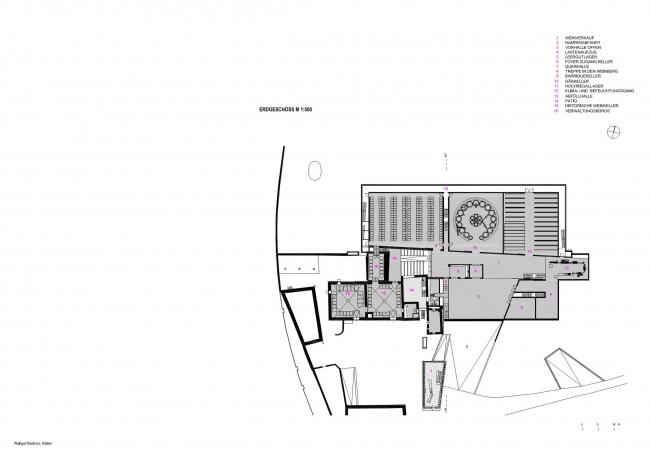 Винодельня Manincor. Архитектор Вальтер Ангонезе. Изображение предоставлено студией Вальтера Ангонезе