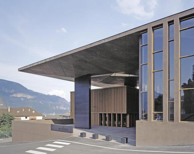 Винодельня Nals Margreid. Архитектор Маркус Шерер © Bruno Klomfar