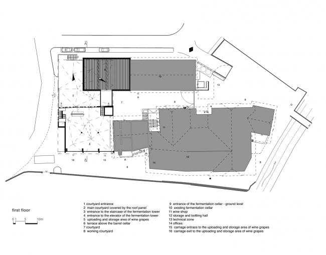 Винодельня Nals Margreid. Архитектор Маркус Шерер © Markus Scherer Architekt