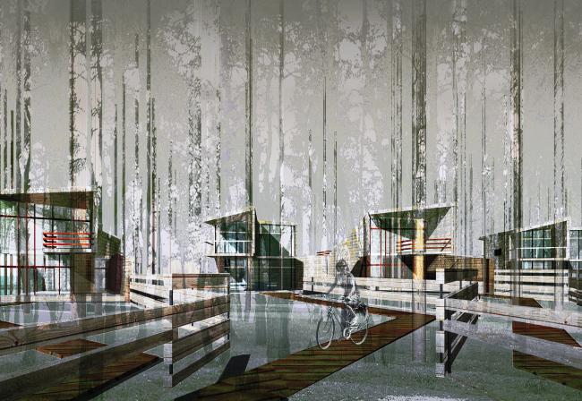 Коттеджный поселок «Орельский лоджинг» © Архитектурное бюро Асадова