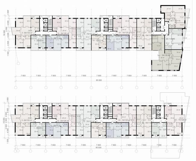 Жилой клубный дом «Тихвинская усадьба» © Архитектурное бюро Асадова