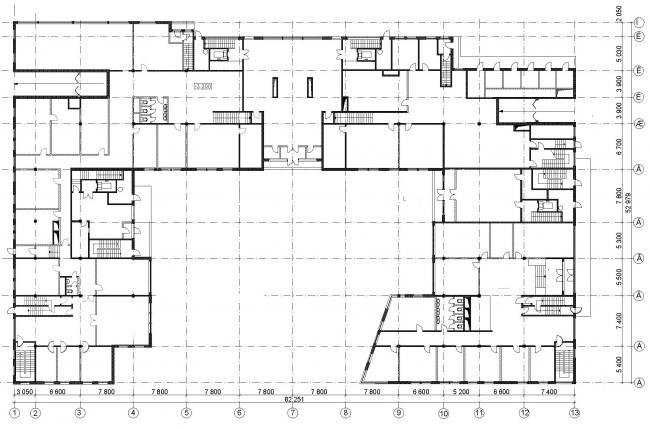 Жилой дом, Костянский переулок © Архитектурное бюро Асадова