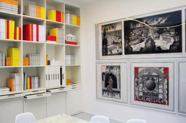 «Библиотека». Павильон России на биеннале архитектуры в Венеции. Фотография © Юлия Тарабарина, Архи.ру