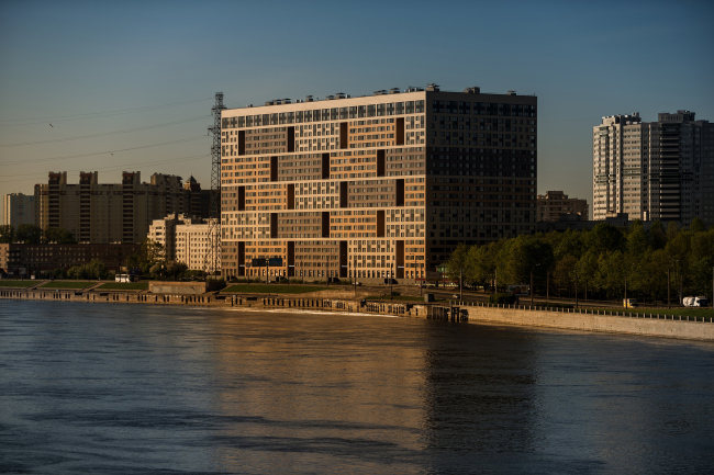 Многофункциональный жилой комплекс «Мегалит». Постройка, 2016 © Евгений Герасимов и партнеры