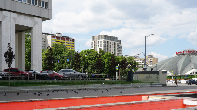 Жилой дом на улице 2-ая Самаринская. Постройка, 2016 © ГрандПроектСити