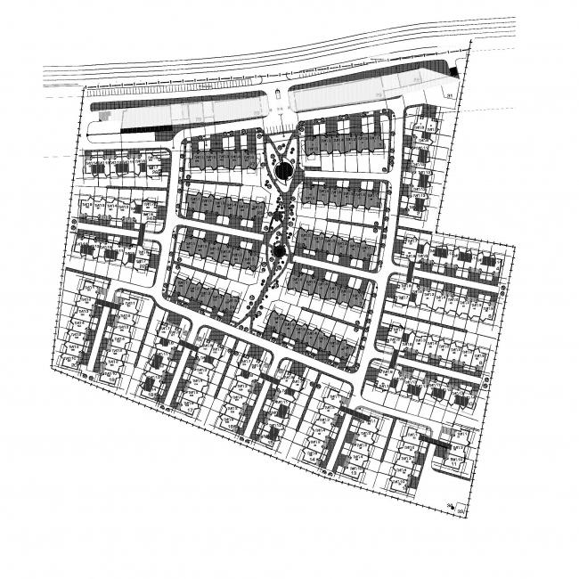 Жилой комплекс «Кленовая роща» © Архитектурное бюро Асадова
