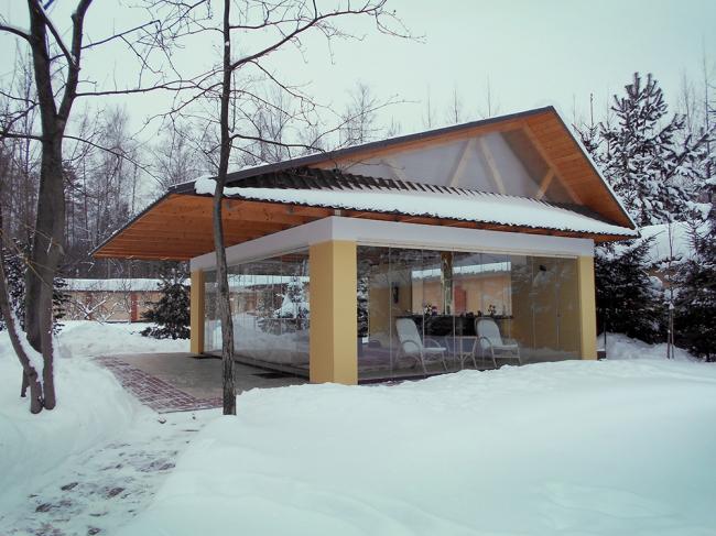 Фотография предоставлена Студией Архитектуры Подвижного Стекла ЮБК