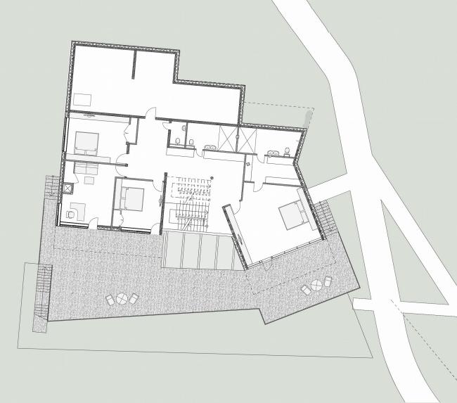 Частный загородный дом «Маяк», г. Чебоксары © Архитектурное бюро Асадова