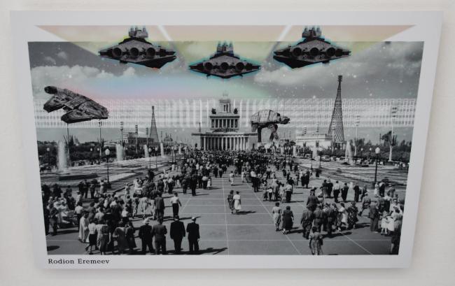 Родион Еремеев, работа воркшопа: ВДНХ Urban Phenomenon. Выставка VDNH: urban phenomenon. Фотография © Юлия Тарабарина, Архи.ру